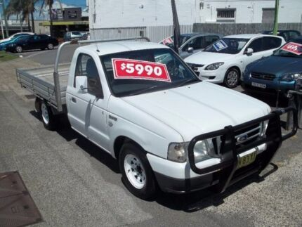 2006 Ford Courier PH (Upgrade) GL White 5 Speed Manual Cab Chassis