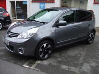 2013 Nissan Note 1.4 16v N-TEC + Sat Nav Air Con Alloy Wheels small mpv Estate