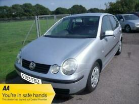 image for VOLKSWAGEN POLO S TDI 75BHP - FSH - PART EXCHANGE TO CLEAR - Silver Manual Diese