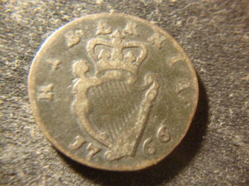 1766 Ireland Penny Irish Colonial DTZ