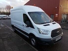 Ford Transit T350 L3 H3 VAN 125PS DIESEL MANUAL WHITE (2014)