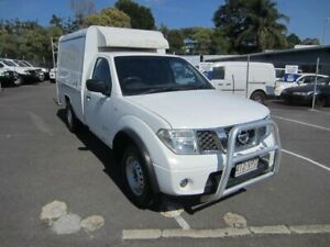 2011 Nissan Navara D40 RX White 6 Speed Manual Cab Chassis Maroochydore Maroochydore Area Preview