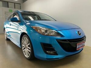 2010 Mazda 3 BL 10 Upgrade Maxx Blue 6 Speed Manual Sedan Phillip Woden Valley Preview