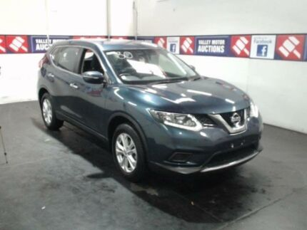 2015 Nissan X-Trail T32 ST (FWD) Blue Continuous Variable Wagon