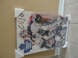 Toronto Maple Leafs Wooden panel print wall hanging NEW