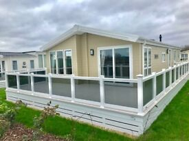 Luxury New Cheap Lodge for sale! Hoburne Naish, Hampshire, New Forest, Sea view