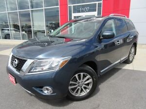 2015 NISSAN PATHFINDER SL 3.5 V-6 4WD 7 PASS P-GATE LEATHER CAME