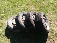 Winter Tires/Steel Rims from 2006 Toyota Prius