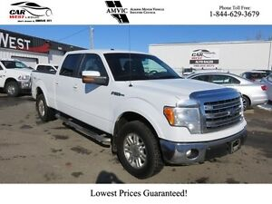 2014 Ford F-150 LEATHER, V8, COOL & HEATED SEATS + MORE