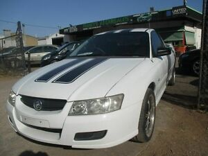 2005 Holden Commodore VZ S White 6 Speed Manual Utility Werribee Wyndham Area Preview