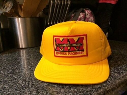 MINNEAPOLIS-MOLINE INSULATED  WINTER  HAT CAP