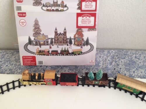 Holiday Time Battery Operated Train