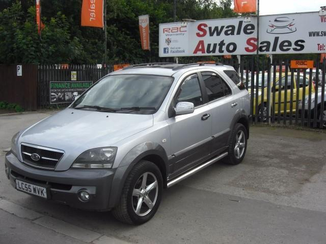 2005 KIA SORENTO 2.5 XT CRDI 5 DOOR DIESEL 4X4 IN FANTASTIC CONDITION DIESEL