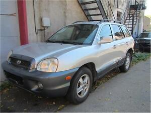2004 HYUNDAI SANTA FE GL/ ONLY FOR $1700 AT 514-484-8181