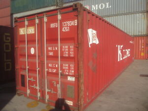 40 ft used sea container sea can storage