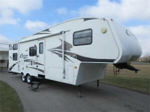 Used 2007 Cougar 281 EFS 5th Wheel