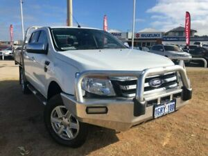 2014 Ford Ranger PX XLT Double Cab White 6 Speed Sports Automatic Utility Beresford Geraldton City Preview