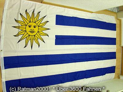 Fahnen Flagge Uruguay - 1 - 150 x 250 cm