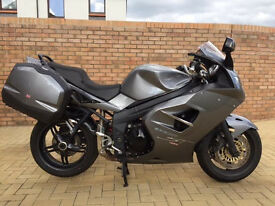 2008 Triumph Sprint ST 1050 with 1 years MOT