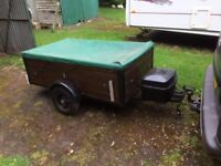 Trailer: £125.ono Small wheel/woodsides - Great for garden/commercial use