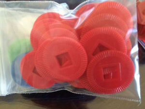 NEW Mahjong Plastic Chips/Coins London Ontario image 2