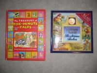 2 childrems hardback classic story books bedtime tales £2 the pair- southbourne