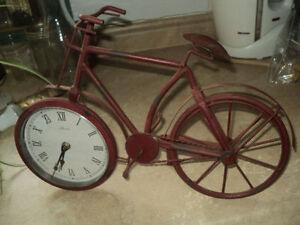 vélo-horloge