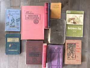 Rare and Vintage Books for sale...$10.00 and up