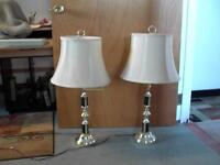 Matching Lamps/w shades