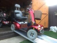 Heavy Duty 8MPH Road Legal Shoprider 889XL Mobility Scooter Any Terrain Fully Adjustable