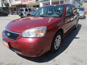 2007 Chevrolet Malibu LS Red Only 106,000km