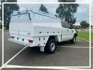 2016 Ford Ranger PX MkII XL Super Cab White 6 Speed Manual Cab Chassis Pakenham Cardinia Area Preview