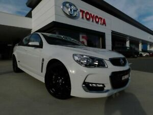2015 Holden Commodore VF II MY16 SS White 6 Speed Manual Sedan Greenway Tuggeranong Preview