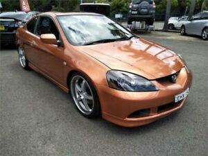 2005 Honda Integra DC MY2005 Type S Orange 6 Speed Manual Coupe Sutherland Sutherland Area Preview