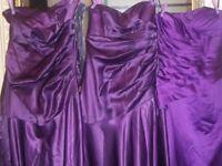 3 bridesmaid/prom dresses