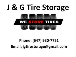 Tire Storage - Winter/Summer just $50 for the season