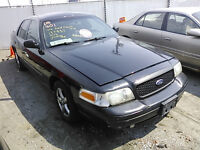 2004 FORD CROWN VIC POLICE INTCPTR PARTS ON SALE!!
