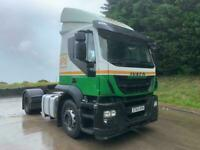 2013 63 Iveco Stralis 360 sleeper cab, 4x2 tractor unit, air con, fridge, 302kms
