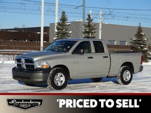 2010 Dodge Ram 1500 QUADCAB Accident Free,  A/C,
