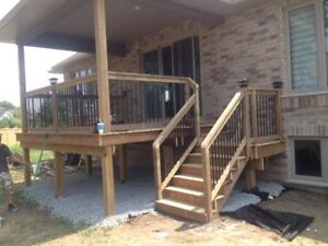 PROFESSIONALLY BUILD DECKS, FENCES AND OUTDOOR STRUCTURES