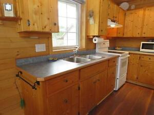 Custom Built Solid Pine Cabinets/counter tops in great condition