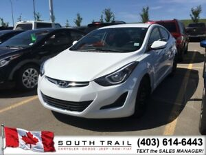 2016 Hyundai Elantra SE BT stereo and Heated Seats $124 B/W