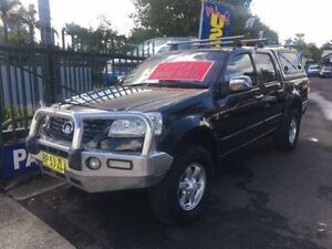 2012 Great Wall V200 K2 (4x4) Black 6 Speed Manual Dual Cab Utility Campbelltown Campbelltown Area Preview