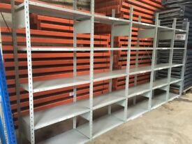 JOB LOT LINK INDUSTRIAL SHELVING 2.3M HIGH MUST GO!!( PALLET RACKING , STORAGE)