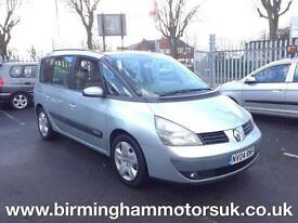 2004 (04 Reg) Renault Espace 2.2 DCI EXPRESSION AUTOMATIC 5DR MPV SILVER