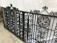 Never Used! Iron Gates for Front Driveway / Front of House