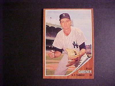 1962 TOPPS BASEBALL # 338  BILLY  GARDNER   NM-MT