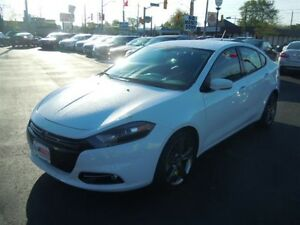 2015 DODGE DART GT- NAVIGATION SYSTEM, REAR VIEW CAMERA, LEATHER