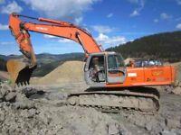Used Hitachi excavators wanted