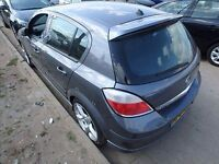 Astra h 2007 hatchback tailgate with Xp spoiler in 3 ku 07594145438